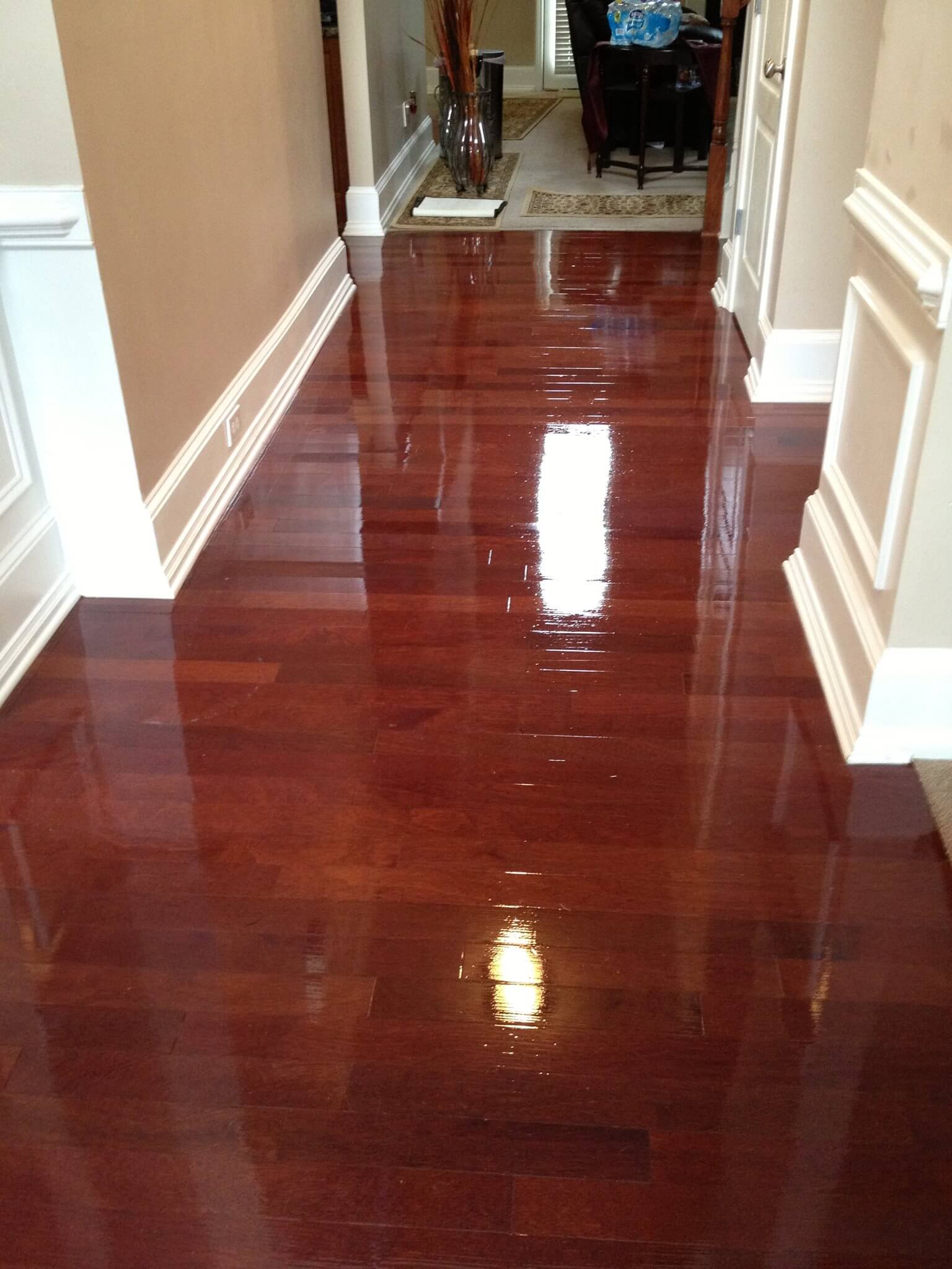 hardwood floor refinishing in pewaukee, wi