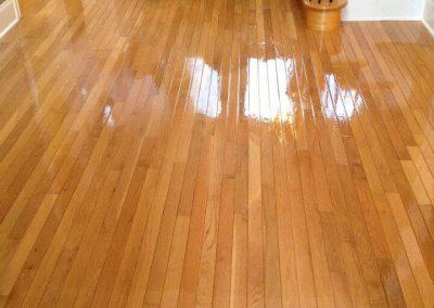 After hardwood floor resurfacing in MIlwaukee WI