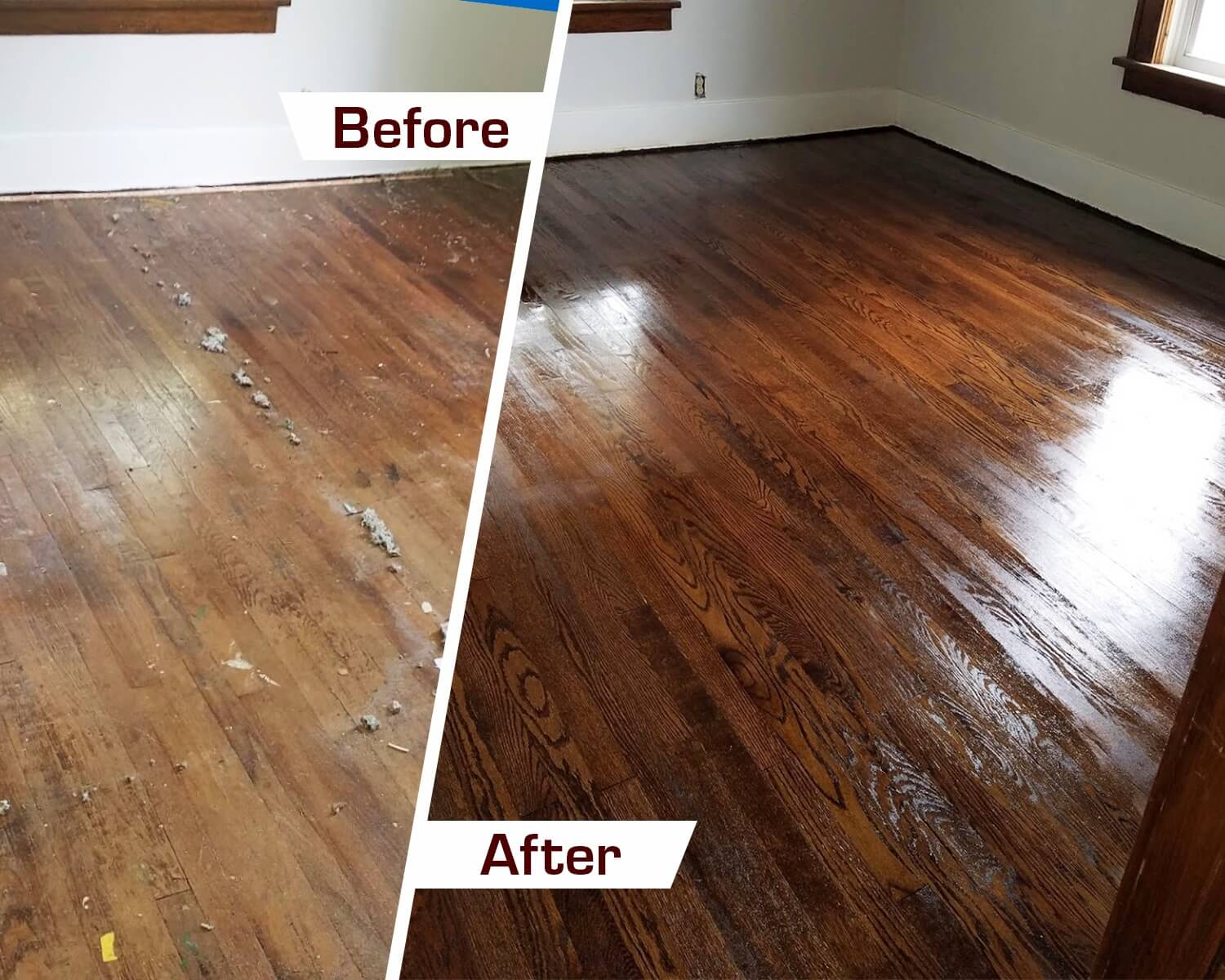 Waukesha wood floor refinishing