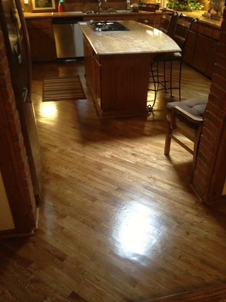 Hardwood floor refinishing in Milwaukee